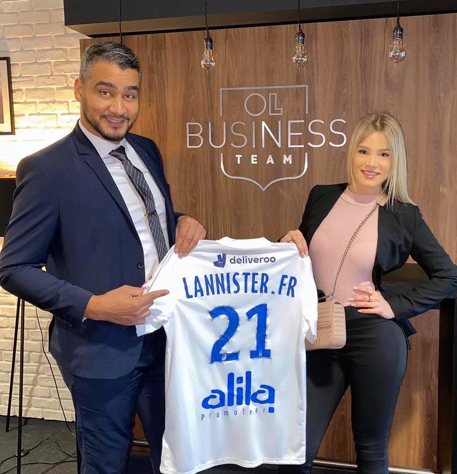 Lannister Transport à l'OL Business Team